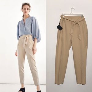 Massimo Dutti Pants & Jumpsuits - Massimo Dutti High Waits Trouser Dress Pants Tan
